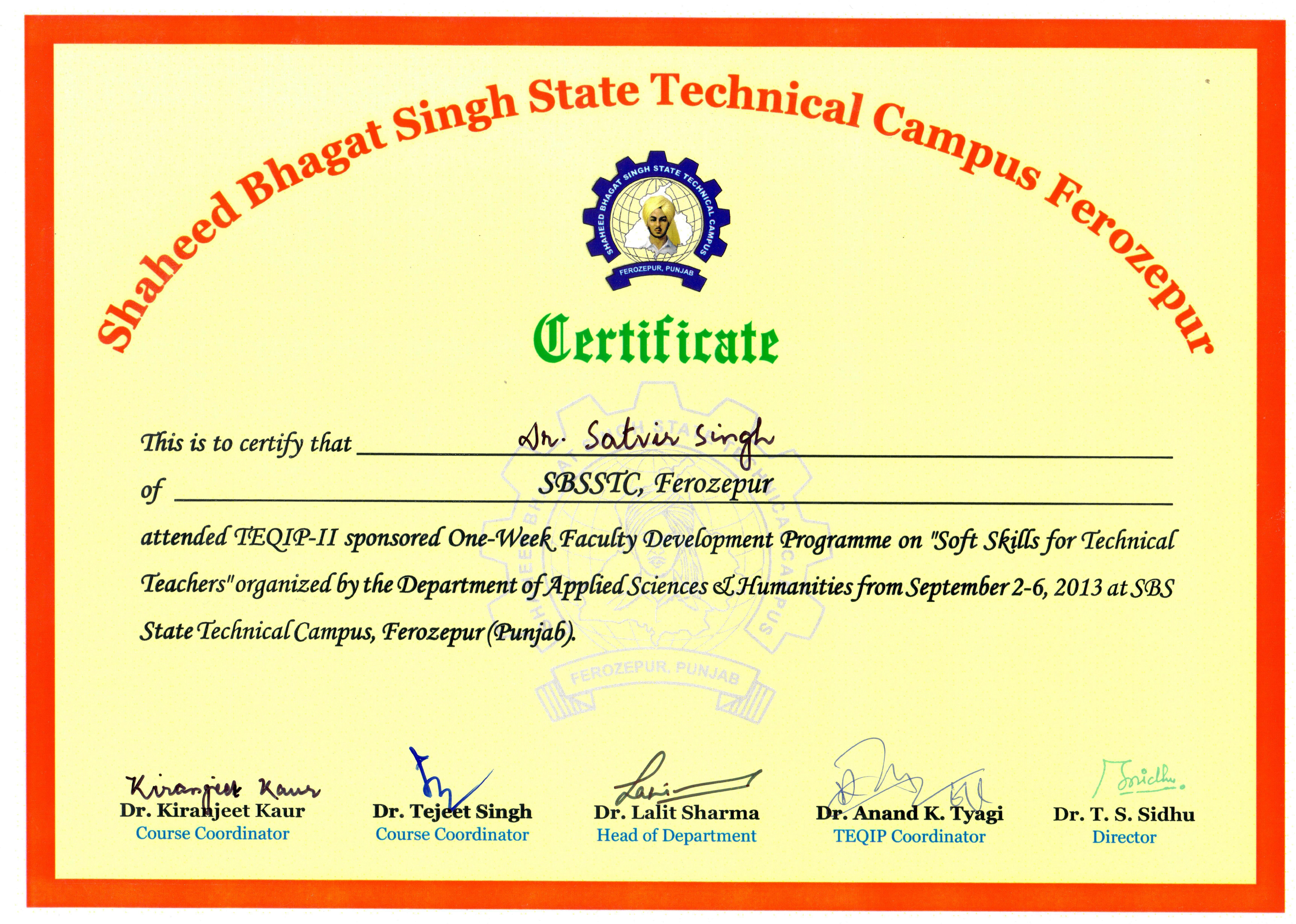 Certificate format for computer course in india gallery dr satvirs personal website pb sep 02 06 yadclub gallery xflitez Gallery